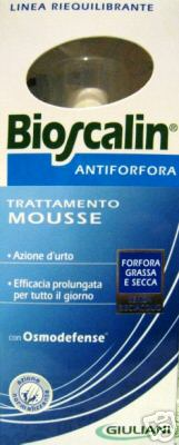 BIOSCALIN - ANTIFORFORA trattamento MOUSSE